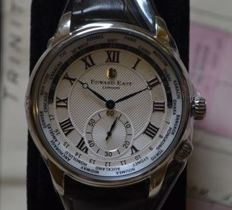 Edward East Of London crown classic world time , as new - factory condition , seald in box
