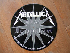Two rare Metallica vinyl picture discs: Load Dragonslayer (limited to 200 copies) and Greatest Hits