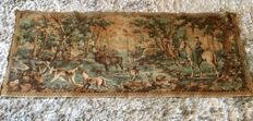 Tapestry: Hunting scene, second half of the 20th century, France