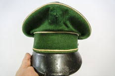 Lot 9 x Military caps also Ww2