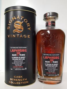Laphroaig 1998 15 years old - Single Cask - Refill Sherry LMDW Signatory Vintage