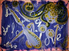 Original; Margarita Bonke - Die Sonne in Love - 2017