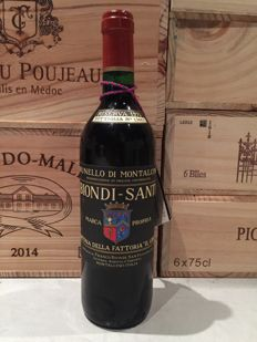 1975 Biondi Santi Riserva, Brunello Di Montalcino - 1 bottle (75cl) - Rare reconditioned bottle with certificate