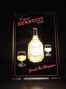 France; Neon - Cognac Hennessy - Sitam creation - around 1960