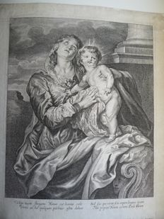 Gaspar de Hollander (ex) (after) Van Dijck - Vierge à l'enfant