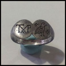 Ring of Byzantine style - 18 mm