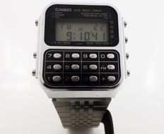 Casio Ca-901 Game Calculator Digital Men's TCH Japan Made 1980's