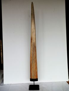 Large Swordfish rostrum mounted on pedestal - Xiphias gladius - 88cm