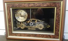 Ken Broadbent - Porsche 911 artwork with working clock