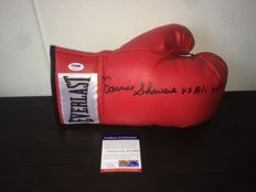 'Earnie Shavers vs Muhammad Ali 9-29-77 Madison Square Garden' - Signed Everlast Boxing Glove + COA PSA/DNA.