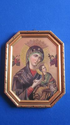 Icon Mary of perpetual help