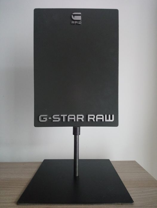 Fine advertising plate for Gstar raw