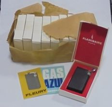 10 Lighters:  Flaminaire. With original box. 1970s