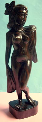 Sculpture; Indian Beauty - late 20th century