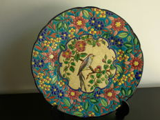 Longwy Enamel plate, before 1955