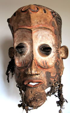 Magnificent Luluwa Dancemask – Bena Lulua – DRC