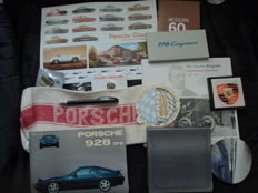 Lot of Porsche accessories - 14 parts