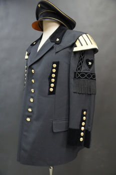 German tunic Bergbau - 20th century + Bergbau cap