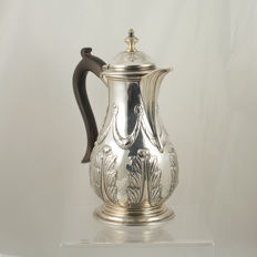 George III Sterling Silver Coffee Pot/Water Jug – London 1770