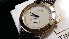 Gucci 3000.2.M - Very elegant and rare men's watch, 18 kt gold-plated 10 microns, excellent condition – 90's