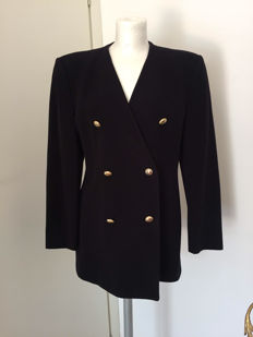 Emporio Armani - women's jacket in wool and cashmere