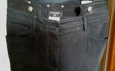 Chanel - grey jeans in perfect condition
