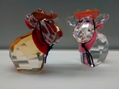 Swarovski - Lovlots Cowboy and Cowgirl Mo limited edition