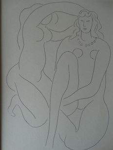 Henri Matisse  - Compositiion