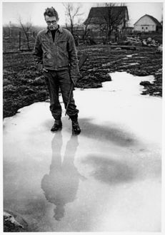 Dennis Stock (1928-2010) - James Dean - At his uncle's farm - Fairmount Indiana - 1955