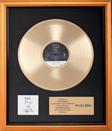 Pink Floyd - The Wall - Platinum Columbia Records In-house Award