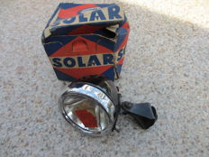 Solar bicycle lamp and dynamo - 1935