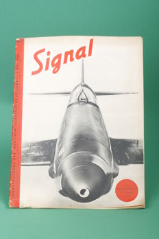 Collection magazines Signaal 1940 No. 2 - 17 (Dutch) in neat and authentic state