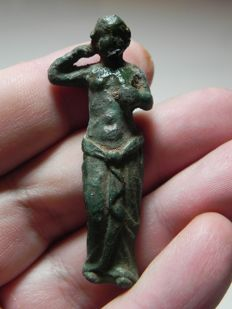 Greek. Bronze Statue of Aphrodite. 300 B.C