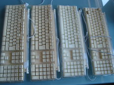 3 complete Pro Keyboard mac + 1 for parts