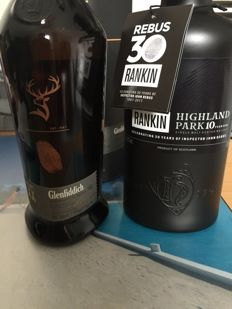 2 bottles - Highland Park Rebus30 and Glenfiddich project XX