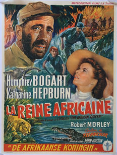 Anonymous - La Reine africaine / The African Queen (Humphrey Bogart, Katharine Hepburn) - 1951