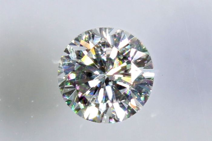 IGI Sealed - 0.11 ct - Brilliant-cut diamond -  D, VS2 - Zonder Reserve Prijs