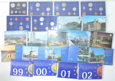 The Netherlands - Year sets 1980/2002 (22 different sets), complete