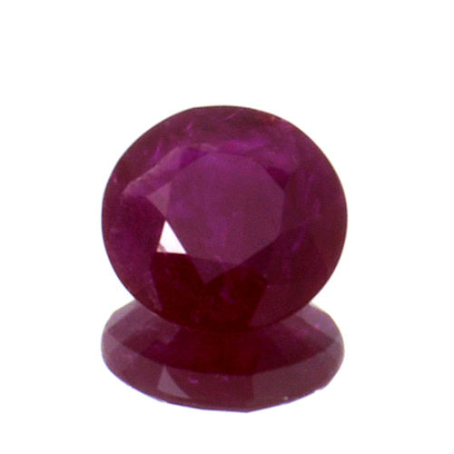 Red ruby - 0.80 ct - No Reserve Price