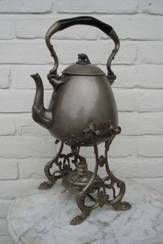Pewter bouilloire - Holland - Ca. 1915