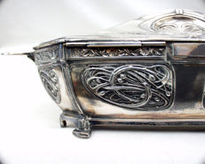 Art Nouveau jewellery box
