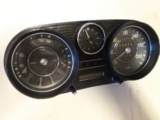 Dashboard/clock Mercedes-Benz 108 - 1960s