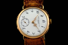 Patek Philippe mariage watch - a pendant watch converted to a wristwatch