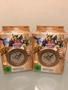 2x new sealed 3DS Zelda Hyrule Warriors Legends Limited edition