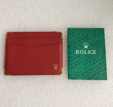 Rolex original multi-lingual translation and red VIP card holder - no reserve price --- item number:79