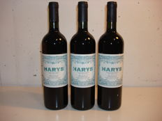 "2000 Gilardi ""Harys"" Syrah, Piedmont - Lot of 3 bottles."