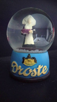 Droste Snow Globe Advertising - 1940-1945