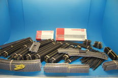 Fleischmann H0 - 150+ package of rails, various rails and points - profi and plain