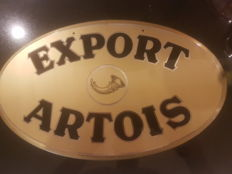 Export artois made in hard plastic  (stella artois)