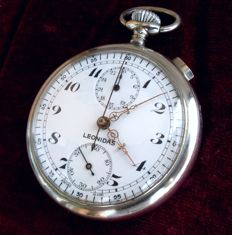 Leonidas - Men's chronograph pocket watch - 1920s–1930s